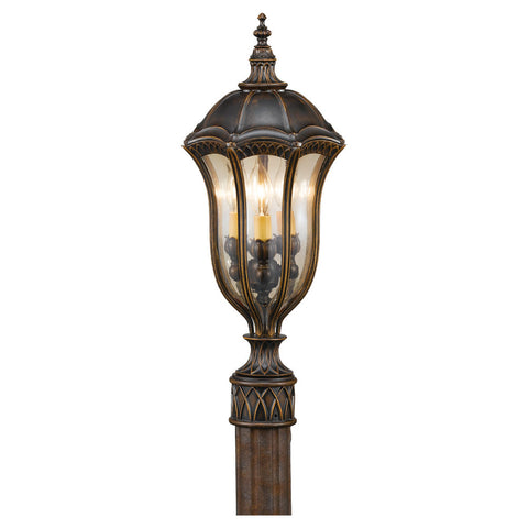 Murray Feiss 3 Bulb Walnut Outdoor   - C140-OL6007WAL