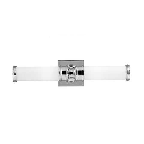 Murray Feiss 2 Bulb Polished Nickel Vanity Strip - C140-VS48002-PN