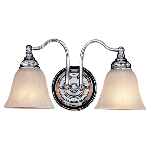 Murray Feiss 2 Bulb Chrome Vanity  - C140-VS6702-CH