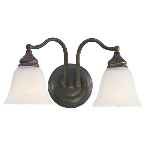 Murray Feiss 2 Bulb Oil Rubbed Bronze Vanity  - C140-VS6702-ORB