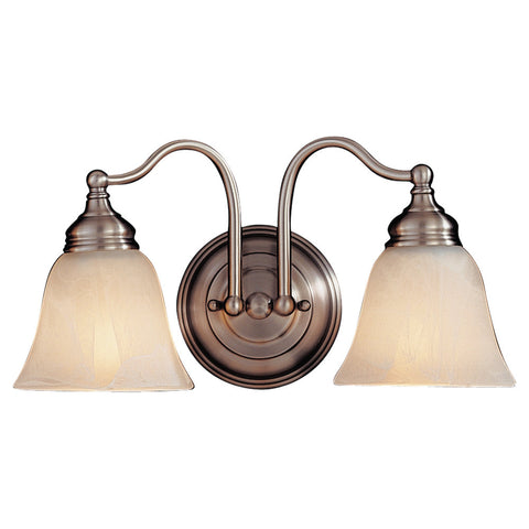 Murray Feiss 2 Bulb Pewter Vanity  - C140-VS6702-PW