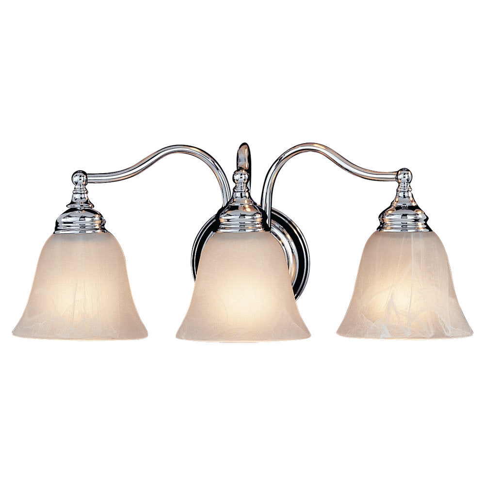 Murray Feiss 3 Bulb Chrome Vanity  - C140-VS6703-CH