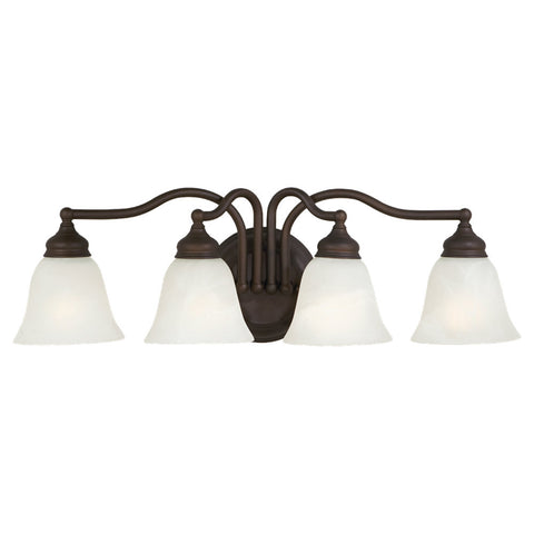 Murray Feiss 4 Bulb Oil Rubbed Bronze Vanity  - C140-VS6704-ORB