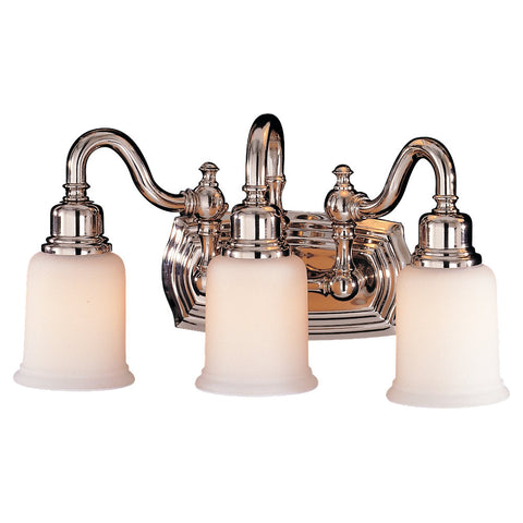 Murray Feiss 3 Bulb Polished Nickel Vanity  - C140-VS8003-PN