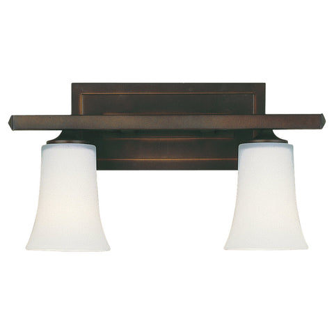 Murray Feiss 2 Bulb Oil Rubbed Bronze Vanity  - C140-VS8702-ORB