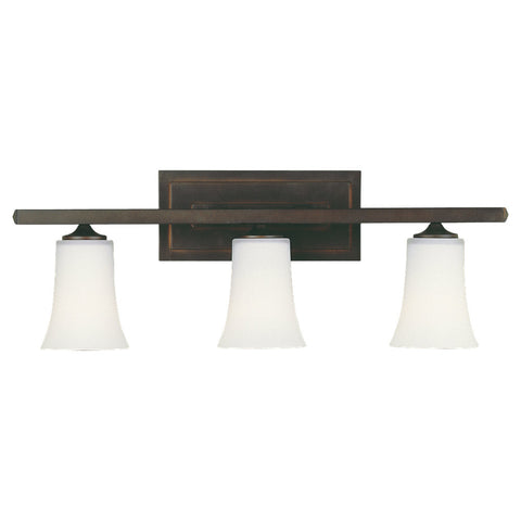 Murray Feiss 3 Bulb Oil Rubbed Bronze Vanity  - C140-VS8703-ORB