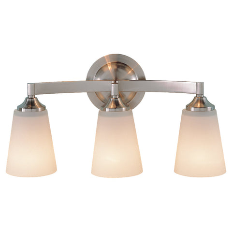 Murray Feiss 3 Bulb Brushed Steel Vanity  - C140-VS9403-BS