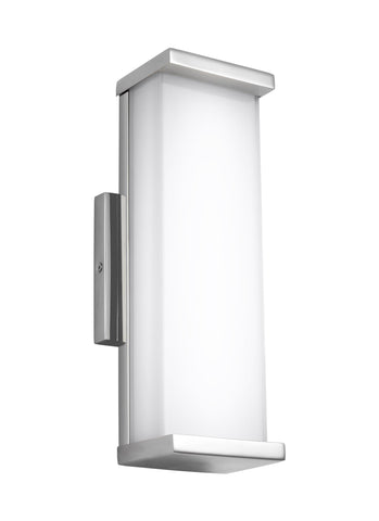 "Murray Feiss 13"" Tall Indoor / Outdoor LED Wall Sconce - C140-WB1862PST-LED"