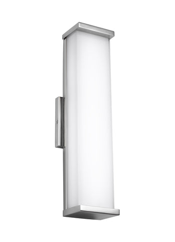 "Murray Feiss 18"" Tall Indoor / Outdoor Wall Sconce - C140-WB1863PST-LED"
