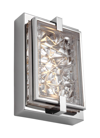 "Murray Feiss 9"" Tall LED Indoor / Outdoor Wall Sconce - C140-WB1865PST-LED"