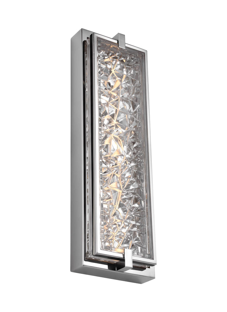 "Murray Feiss 19"" Tall LED Indoor / Outdoor Wall Sconce - C140-WB1866PST-LED"