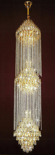 H905-LYS-3282 By The Gallery-LYS Collection Crystal Pendent Lamps