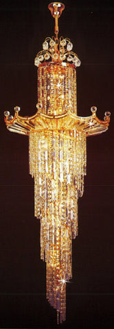 H905-LYS-6614 By The Gallery-LYS Collection Crystal Pendent Lamps