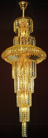 H905-LYS-6615 By The Gallery-LYS Collection Crystal Pendent Lamps