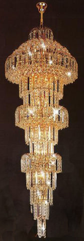 H905-LYS-6616 By The Gallery-LYS Collection Crystal Pendent Lamps