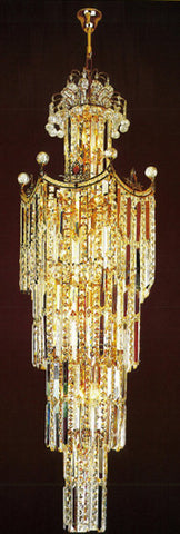 H905-LYS-6617 By The Gallery-LYS Collection Crystal Pendent Lamps
