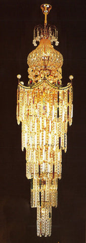 H905-LYS-6619 By The Gallery-LYS Collection Crystal Pendent Lamps