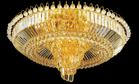 H905-LYS-6666 By The Gallery-LYS Collection Crystal Celling Mounted Lamps