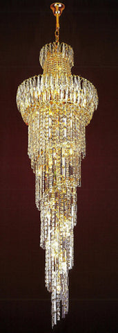 H905-LYS-8162 By The Gallery-LYS Collection Crystal Pendent Lamps