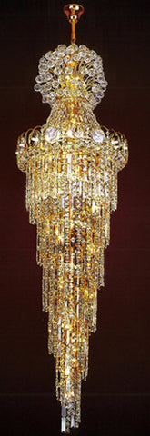 H905-LYS-8168 By The Gallery-LYS Collection Crystal Pendent Lamps