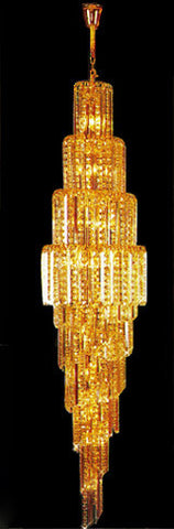 H905-LYS-8838 By The Gallery-LYS Collection Crystal Pendent Lamps