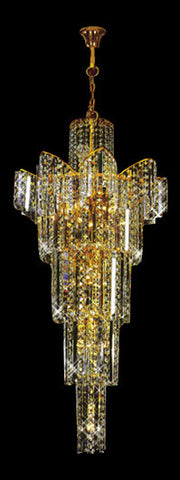 H905-LYS-8842 By The Gallery-LYS Collection Crystal Pendent Lamps