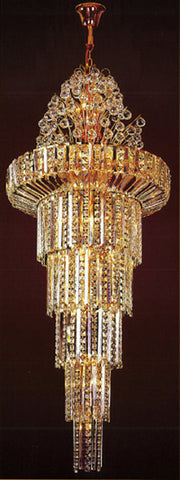 H905-LYS-8852 By The Gallery-LYS Collection Crystal Pendent Lamps