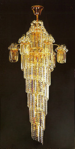 H905-LYS-8854 By The Gallery-LYS Collection Crystal Pendent Lamps