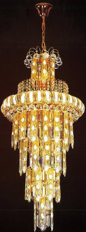 H905-LYS-8859 By The Gallery-LYS Collection Crystal Pendent Lamps