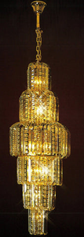 H905-LYS-8865 By The Gallery-LYS Collection Crystal Pendent Lamps