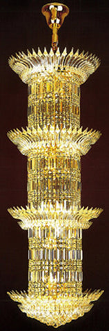 H905-LYS-8866 By The Gallery-LYS Collection Crystal Pendent Lamps