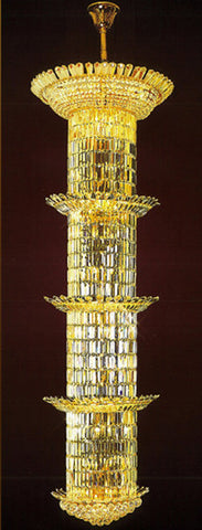 H905-LYS-8867 By The Gallery-LYS Collection Crystal Pendent Lamps