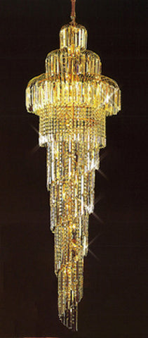 H905-LYS-8871 By The Gallery-LYS Collection Crystal Pendent Lamps