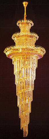 H905-LYS-8872 By The Gallery-LYS Collection Crystal Pendent Lamps