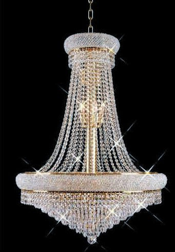 C121-GOLD/1802/2836 Primo CollectionEmpire Style CHANDELIER Chandeliers, Crystal Chandelier, Crystal Chandeliers, Lighting