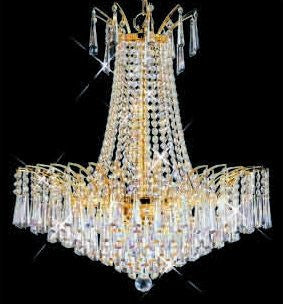 C121-GOLD/8032/1616 Victora CollectionEmpire Style CHANDELIER Chandeliers, Crystal Chandelier, Crystal Chandeliers, Lighting