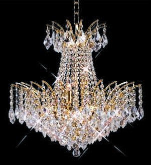 C121-GOLD/8033/2932 REGENCY LIGHTING Empire Style