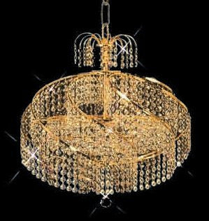 C121-GOLD/8052/1416 Spiral CollectionEmpire Style CHANDELIER Chandeliers, Crystal Chandelier, Crystal Chandeliers, Lighting