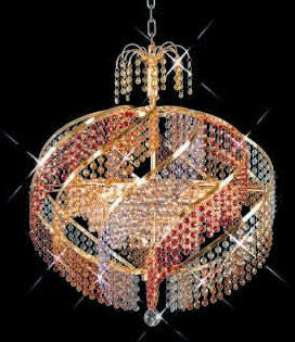 C121-GOLD/8053/2625 Spiral CollectionEmpire Style CHANDELIER Chandeliers, Crystal Chandelier, Crystal Chandeliers, Lighting