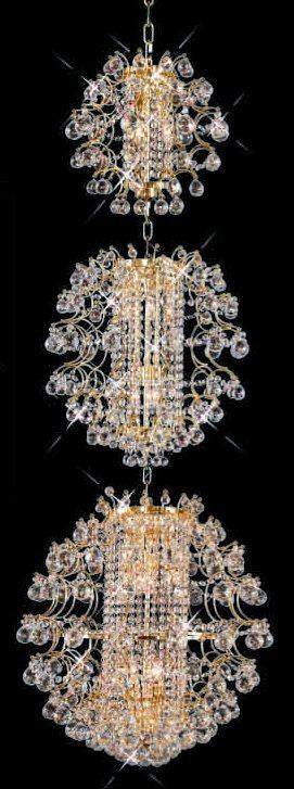 C121-GOLD/8064/2465 St.Ives Collection By Elegant Modern / Contemporary CHANDELIER Chandeliers, Crystal Chandelier, Crystal Chandeliers, Lighting