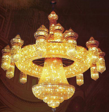 H905-LYS-0001 By The Gallery-LYS Collection Crystal Pendent Lamps