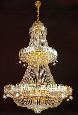 H905-LYS-2027 By The Gallery-LYS Collection Crystal Pendent Lamps