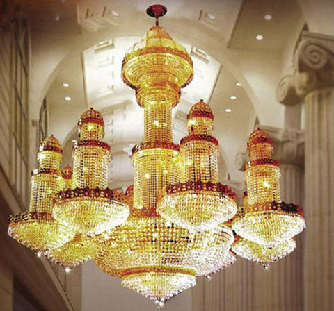 H905-LYS-6601 By The Gallery-LYS Collection Crystal Pendent Lamps
