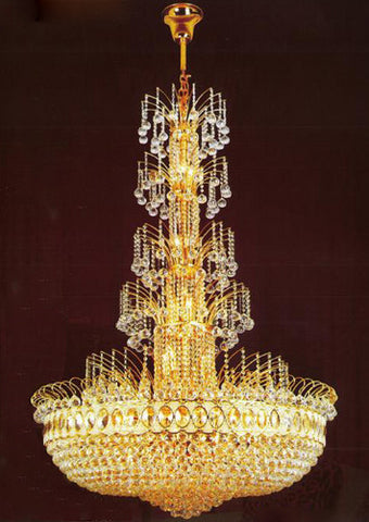 H905-LYS-6606 By The Gallery-LYS Collection Crystal Pendent Lamps
