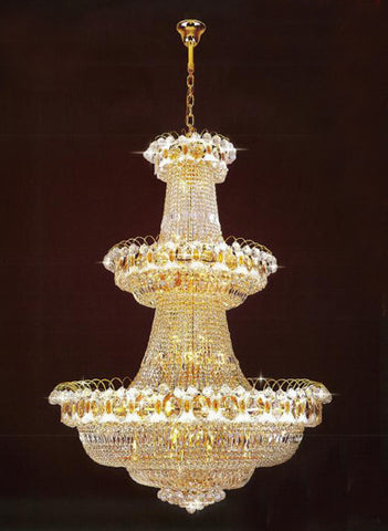 H905-LYS-8051 By The Gallery-LYS Collection Crystal Pendent Lamps
