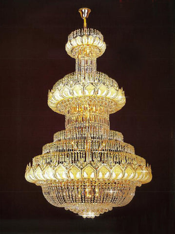 H905-LYS-8197 By The Gallery-LYS Collection Crystal Pendent Lamps