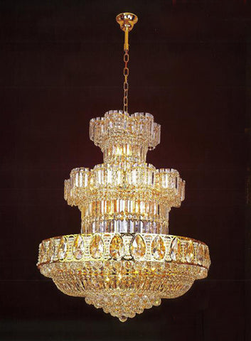 H905-LYS-8202 By The Gallery-LYS Collection Crystal Pendent Lamps