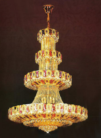 H905-LYS-8801 By The Gallery-LYS Collection Crystal Pendent Lamps