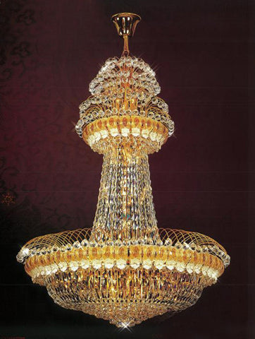 H905-LYS-8803 By The Gallery-LYS Collection Crystal Pendent Lamps