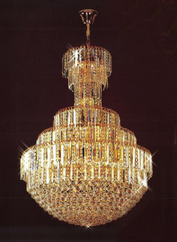 H905-LYS-8804 By The Gallery-LYS Collection Crystal Pendent Lamps